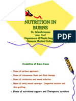 Nutrition in Burns