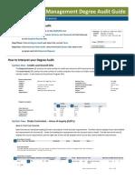 Degree Audit Guide _HS-M _110907
