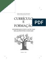 Livro Curriculo e Formacao