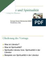 Literatur und Spiritualität