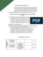 LEY FEDERAL DE OBRAS PÚBLICAS