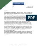 T2 - Investor Letter - 2011 10 02