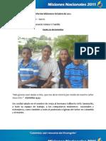 Informe Misionero Sincelejo - Octubre