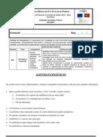 Ficha de trabalho sobre agentes patogénicos