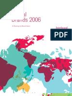 2006 Interbrand report