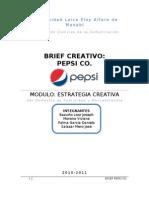 Muestra de Brief Creativo -Pepsi Co