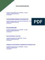 Lista Telefonica de Fornecedores