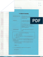 Geometry Interactive Notebook 2-1 and 2-2