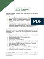 acidos humicos