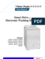 "Parts Manual Fisher & Paykell ""Smart Drive"" Electronic Washing Machine"