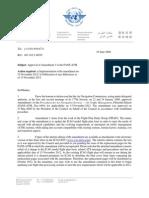 Icao 2012 Fpl Pans Atm Amendment Fpl