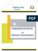 NEWSLETTER nº 3 - Comissão Distrital de Serviços Profissionais