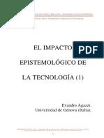 EL IMPACTO EPISTEMOLÓGICO DE LA TECNOLOGÍA