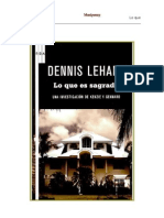 Dennis Lehane - Kenzie & Gennard 3 - Lo Que Es Sagrado