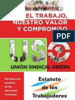 Estatuto de Los Trabajadores Septiembre 2011