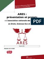 Dossier de présentation et de partenariat de l'ARES