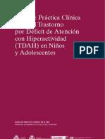 guía práctica clínica TDA