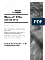 Instructions for Access Assignment