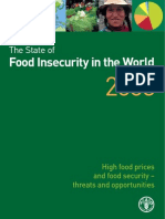 The State of Food In Security in the World