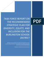 Task Force on Diversity and Equity's 99-page report