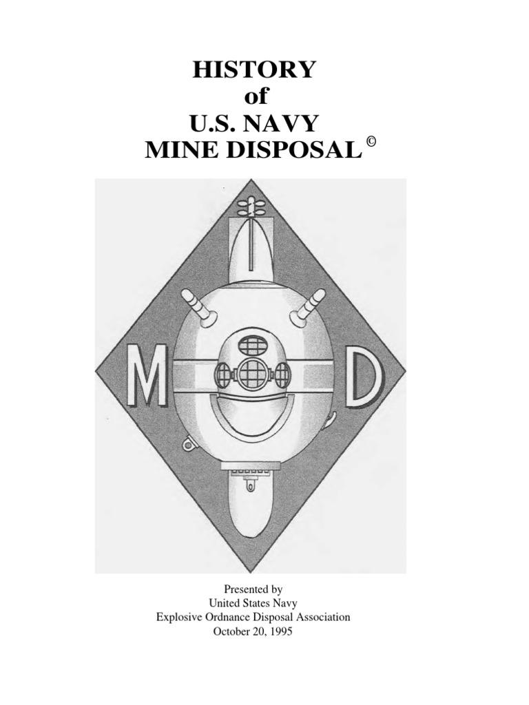 MD History Scanned, PDF   Naval Mine   Fuze