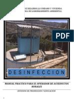 Manual de desinfección