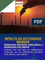 9 Impacto de Actividades Marinas