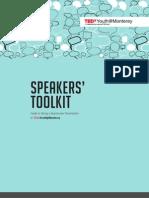 Speakers Toolkit