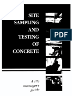 Guide to Testing Concrete