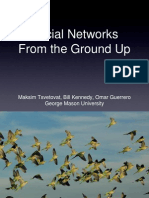 Social Networks From the Ground Up -- CSSSA 2011 Presentation