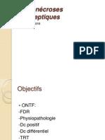 Ostéonécroses aseptiques