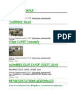 CAPEF Institutionnel