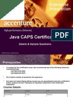 JavaCaps Certification