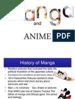 Anime and Manga Presentation