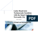 Labor Road-Tests Technocratic Socialism With the Smart Grid on Newcastle City