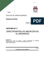Espectrometria de Absorcion Del Infrarrojo