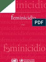 feminicidio naciones unidas