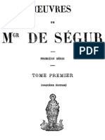 Oeuvres de Mgr de Segur (Tome 1)