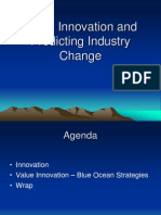 Value Innovation and Predicting Industry Change