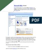 Interfaz Access