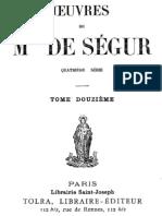 Oeuvres de Mgr de Segur (Tome 12)