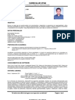 CV Ricardo Antonio Monroy