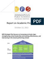 Academic Progress Report