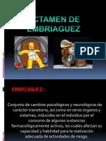 DICTAMEN DE EMBRIAGUEZ