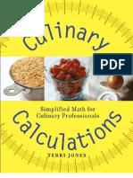 Culinary Calculation