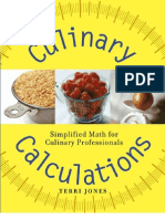 Culinary Calculation