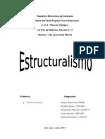 El Estructuralismo (trabajo)