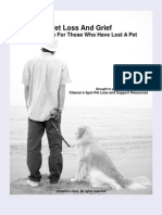 Pet Loss and Grief