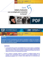 Curso Calidad y Evaluación presentación v1