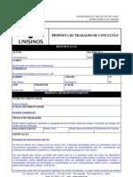 Proposta de TCC (Unisinos) - Redes Mesh Cognitivas